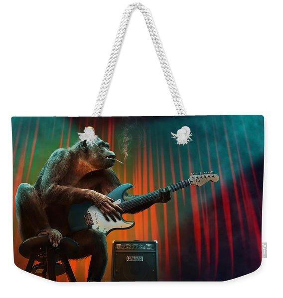 Music_animal Weekender Tote Bag