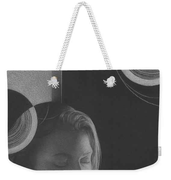Muted Shadow No. 3 Weekender Tote Bag