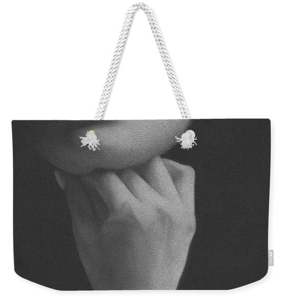 Muted Shadow No. 2 Weekender Tote Bag