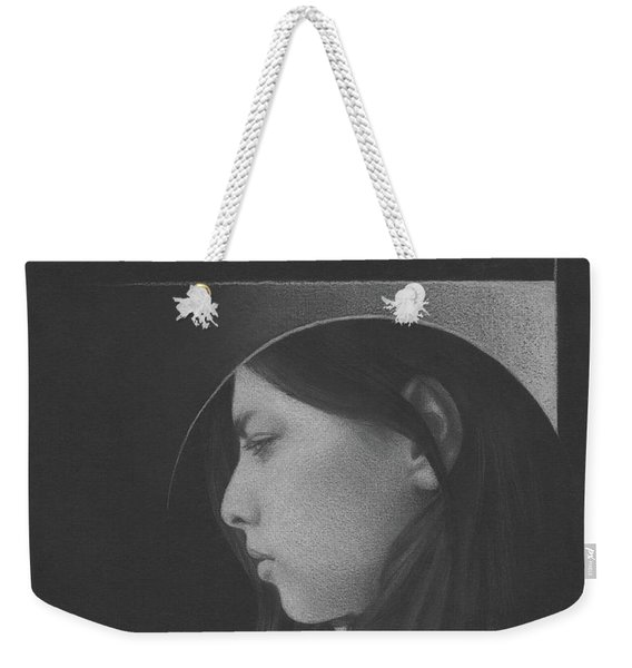Muted Shadow No. 1 Weekender Tote Bag