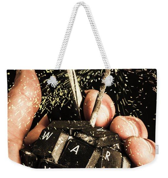 My 1000 Pieces Salute Weekender Tote Bag