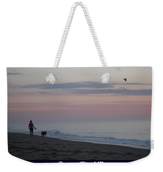 My Best Friend And The Beach Weekender Tote Bag