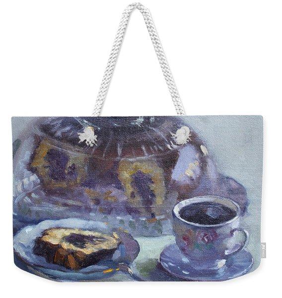 My Breakfast At Lida's Weekender Tote Bag