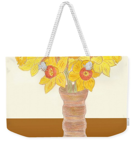 My Daffodils Weekender Tote Bag