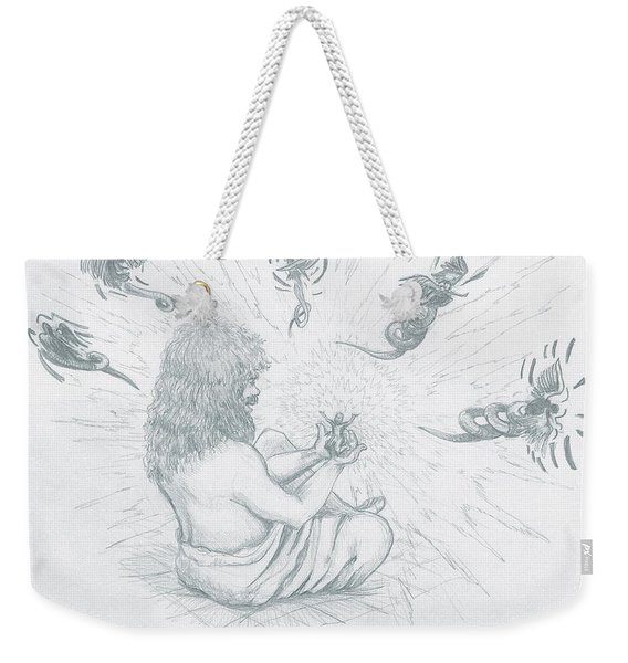 My Father's Salvation Weekender Tote Bag