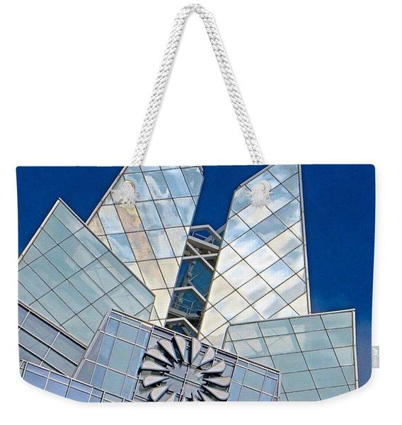 My Favorite #building In #myhometown Weekender Tote Bag