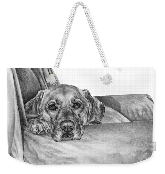 My Favorite Chair Weekender Tote Bag