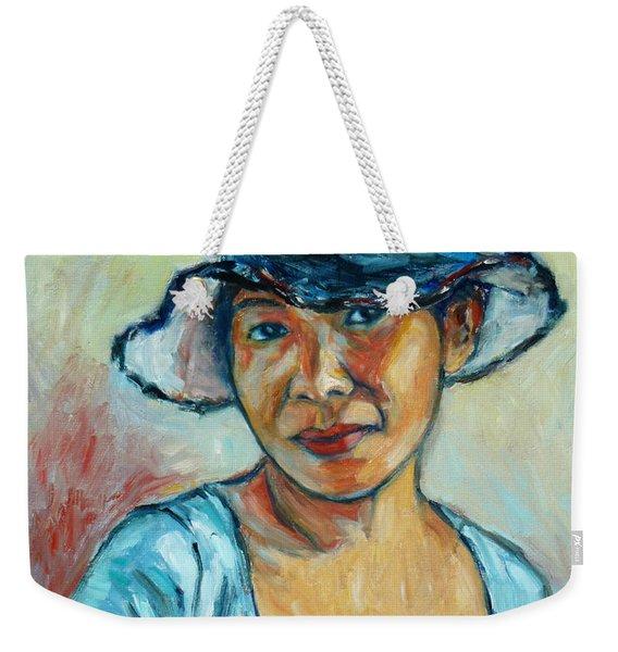 My First Self-portrait Weekender Tote Bag