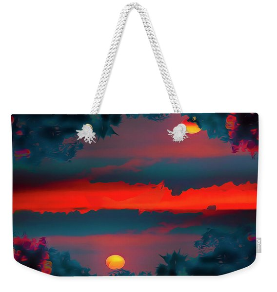 My First Sunset- Weekender Tote Bag