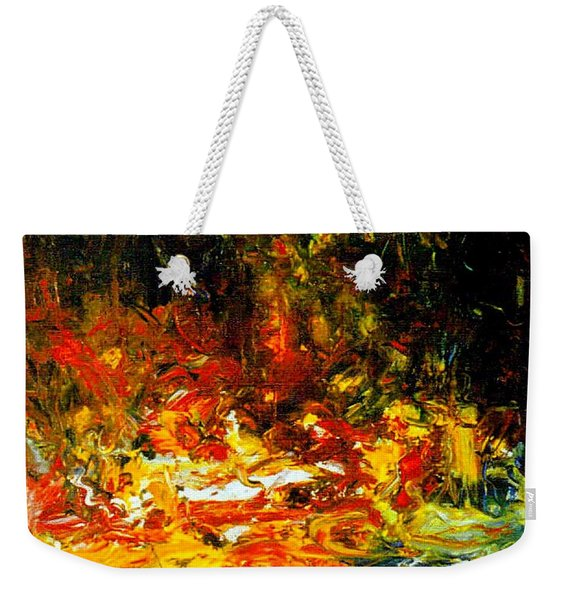 My Forest Of Earthly Delights Weekender Tote Bag