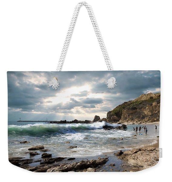 My Friend The Ocean Weekender Tote Bag