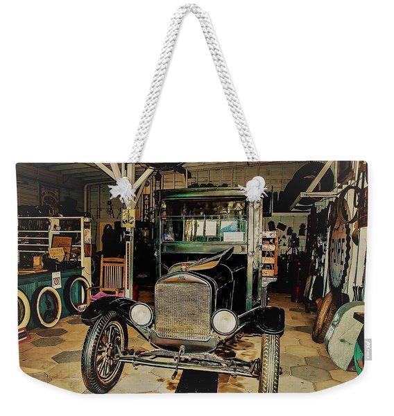 My Garage Too Weekender Tote Bag