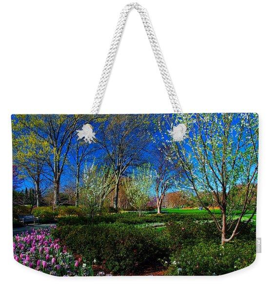 My Garden In Spring Weekender Tote Bag