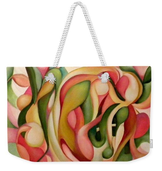 My Garden In The Morning Weekender Tote Bag