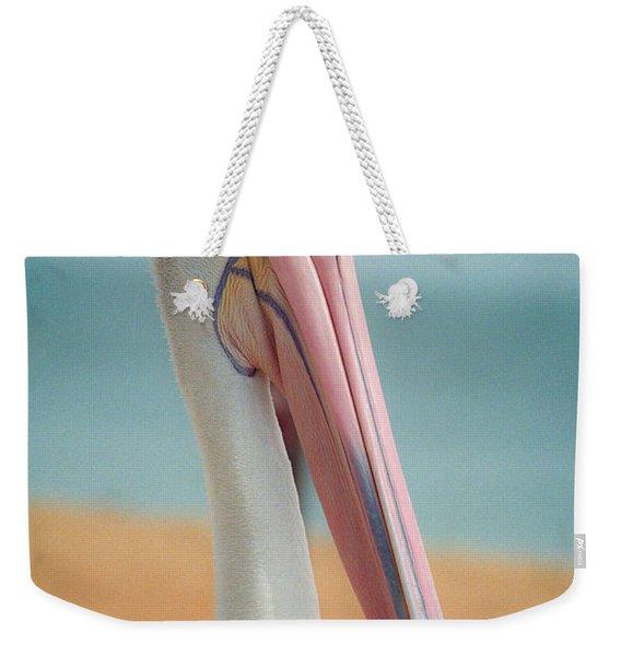 My Gentle And Majestic Pelican Friend Weekender Tote Bag