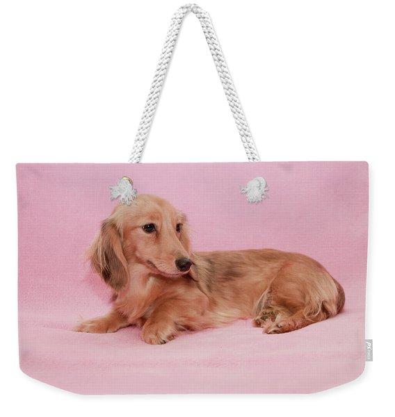 My Girl Joey Weekender Tote Bag