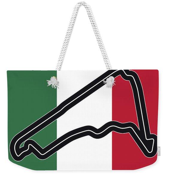 My Gran Premio De Mexico Minimal Poster Weekender Tote Bag