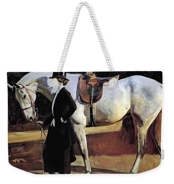 My Horse Is My Friend  Weekender Tote Bag