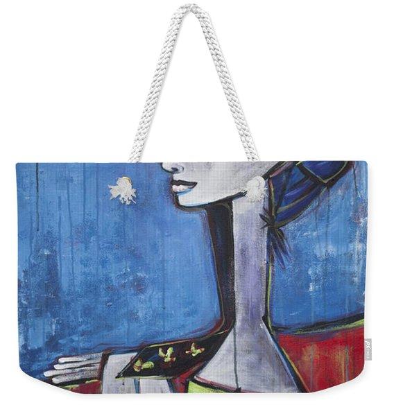 My Jacqueline Weekender Tote Bag