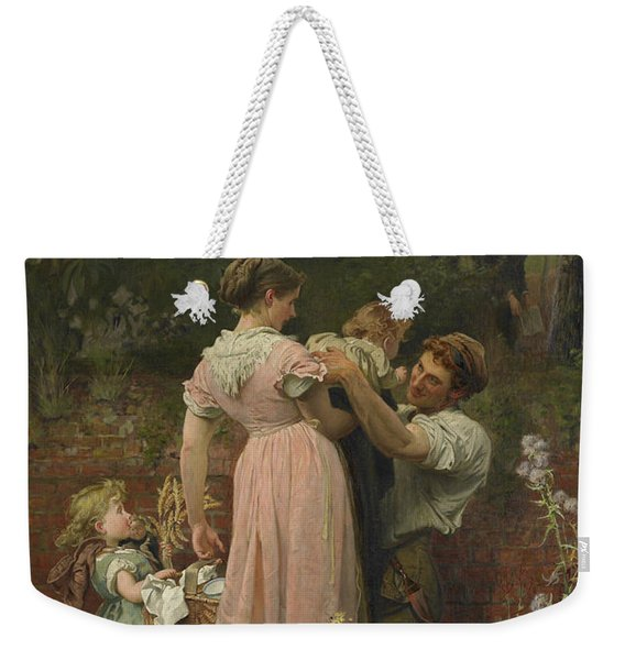 My Lady Is A Widow And Childless, 1874 Weekender Tote Bag