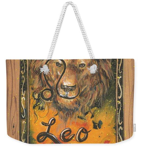 My Leo  Weekender Tote Bag