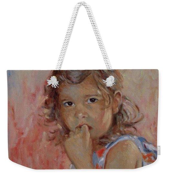 My Little Baby  Weekender Tote Bag