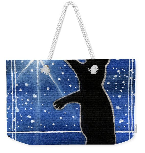 My Shinning Star - Christmas Cat Weekender Tote Bag