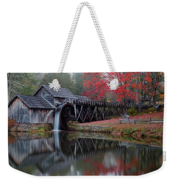 My Version Of Mabry Mills Virginia  Weekender Tote Bag