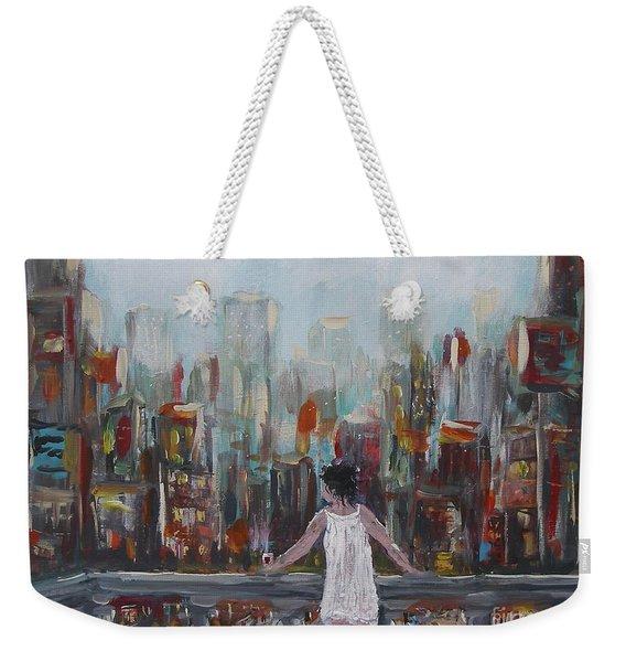 My View Weekender Tote Bag