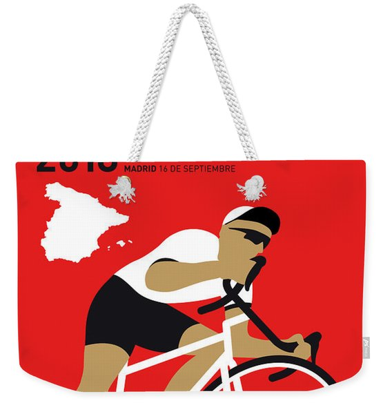 My Vuelta A Espana Minimal Poster 2018 Weekender Tote Bag
