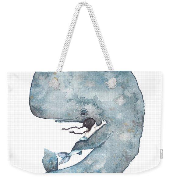 My Whale Weekender Tote Bag