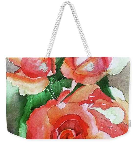 My Wild Irish Rose Weekender Tote Bag