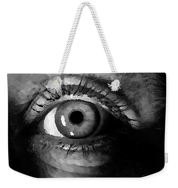 My Window In Bw Weekender Tote Bag