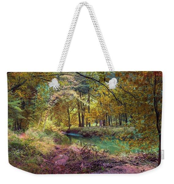 My World Of Color Weekender Tote Bag
