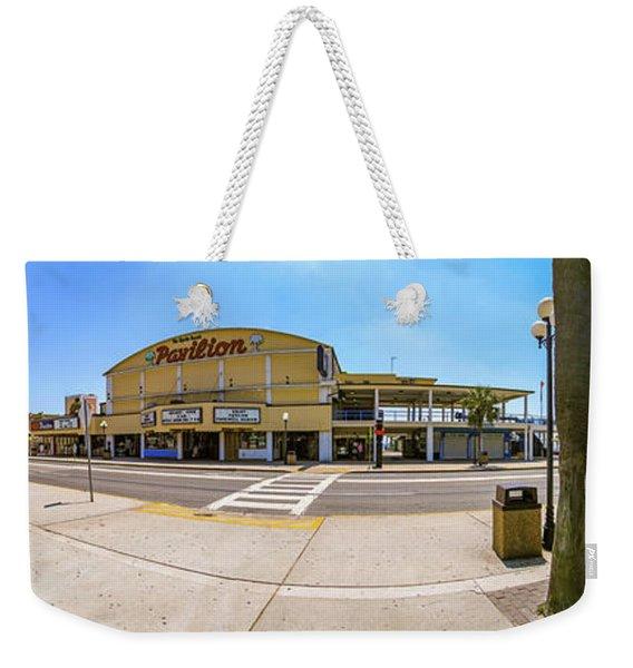 Myrtle Beach Pavilion Building Weekender Tote Bag