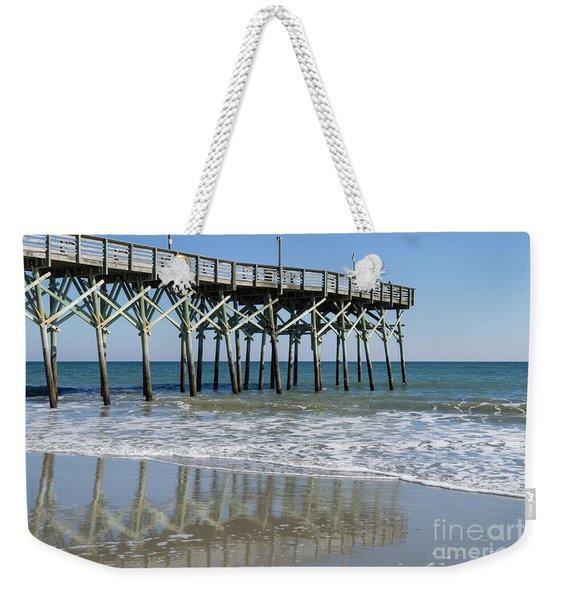 Myrtle Beach Pier Weekender Tote Bag