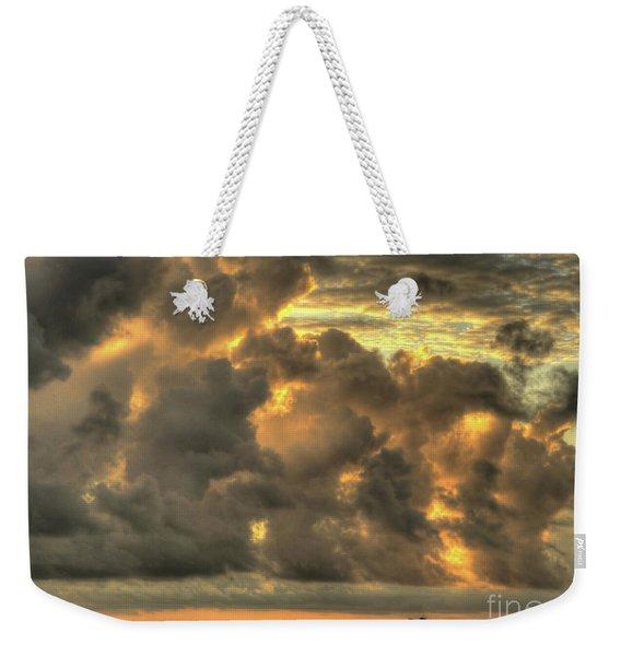 Myrtle Beach Seascape Weekender Tote Bag