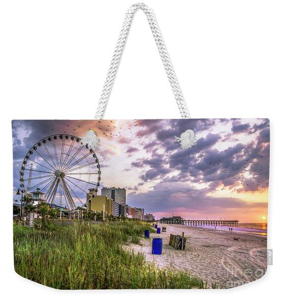 Myrtle Beach Sunrise Weekender Tote Bag