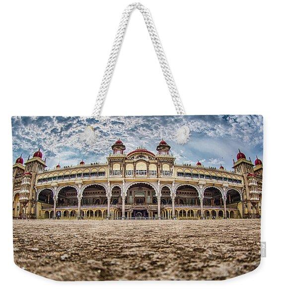 Mysore Palace Weekender Tote Bag
