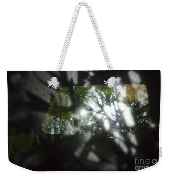 Mysterious Encounter Weekender Tote Bag