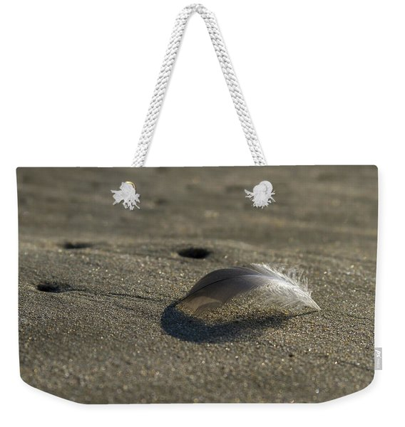 Mysterious Feather Weekender Tote Bag