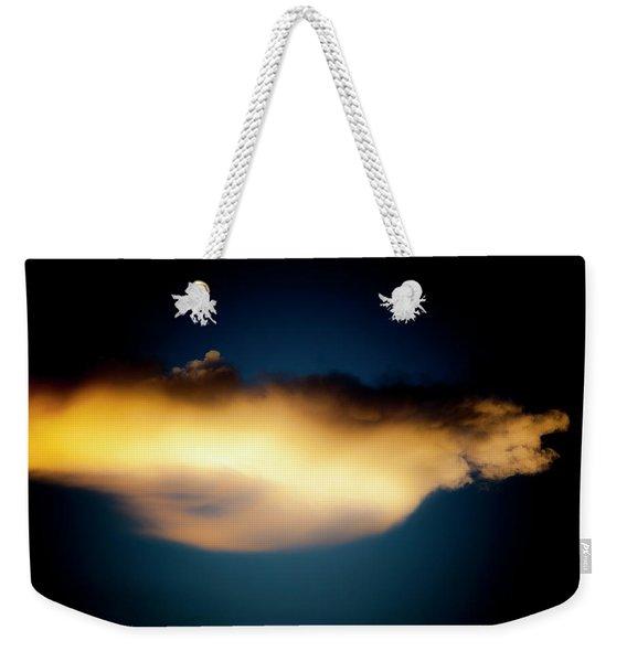 Mysterious Glow Weekender Tote Bag