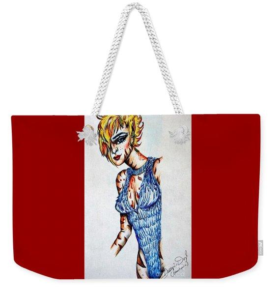 Mysterious Kitty Weekender Tote Bag