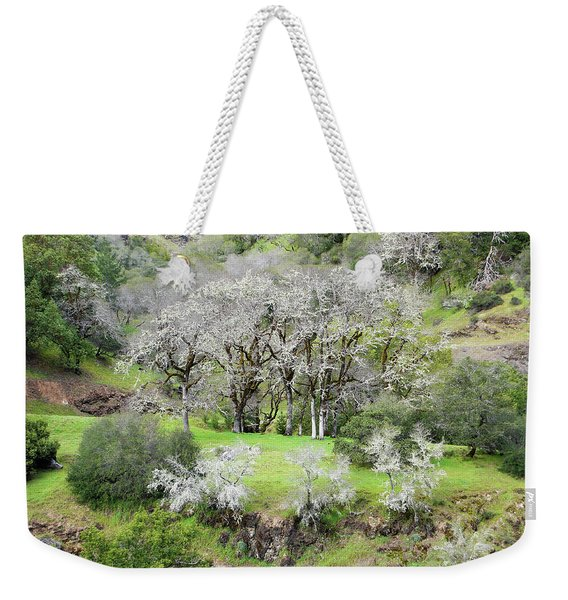 Mysterious Landscape In Sonoma County Weekender Tote Bag