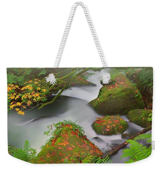 Mystic Autumn Weekender Tote Bag