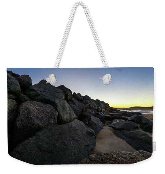 Mystic Beach Weekender Tote Bag
