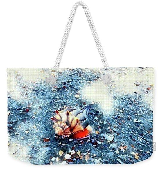 Mystic Conch Weekender Tote Bag