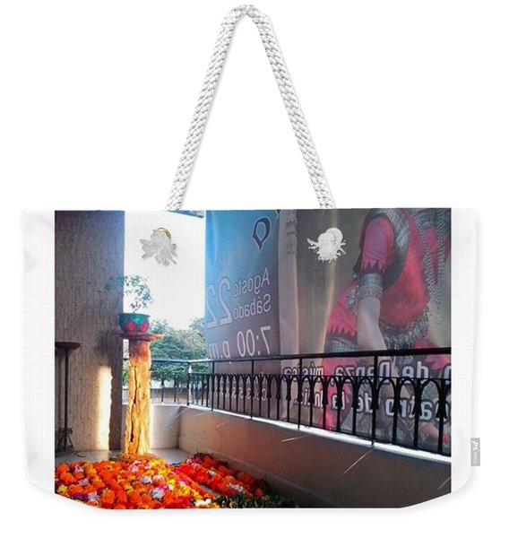 Mystic India Weekender Tote Bag