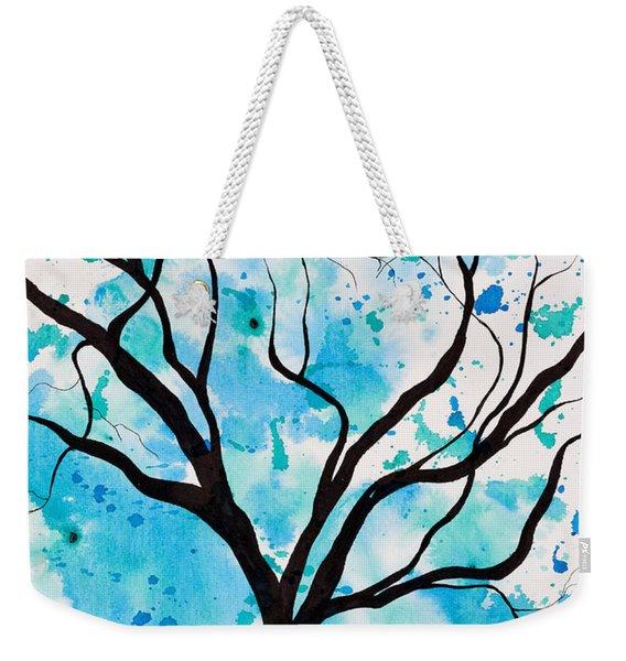 Mystic Tree Weekender Tote Bag