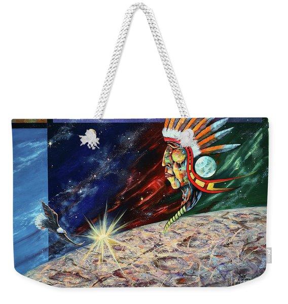 Mystic Warrior Weekender Tote Bag